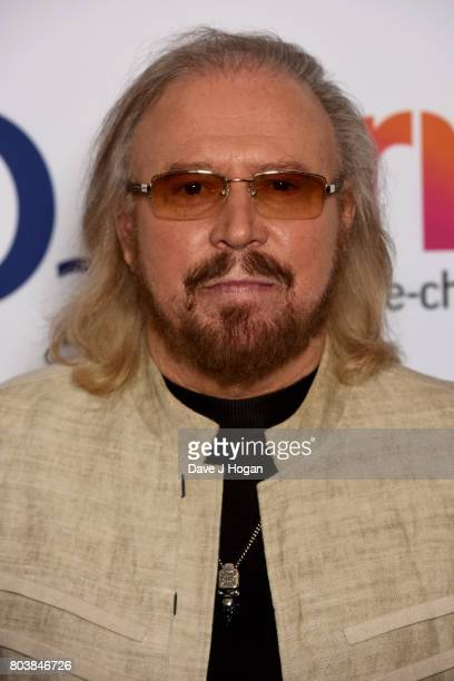 Barry Gibb attends the Nordoff Robbins' O2 Silver Clef Awards at The Grosvenor House Hotel on June 30 2017 in London England