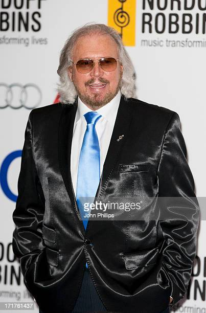 Barry Gibb attends the Nordoff Robbins Silver Clef awards at London Hilton on June 28 2013 in London England