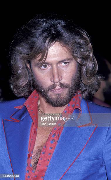 Barry Gibb attends the premiere party for 'Sgt Pepper's Lonely Hearts Club Band' on January 18 1978 at Roseland in New York City