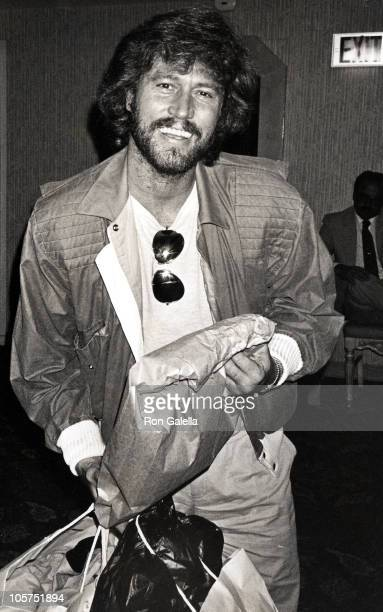 Barry Gibb during Barry Gibb Shopping Trip at Hilton Hotel - March 1, 1984 at Hilton Hotel in Beverly Hills, California, United States.