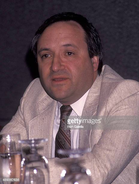 Barry Gordon attends Writers Guild of America Access Program Press Conference on April 1 1992 at the Nikko Hotel in Beverly Hills California
