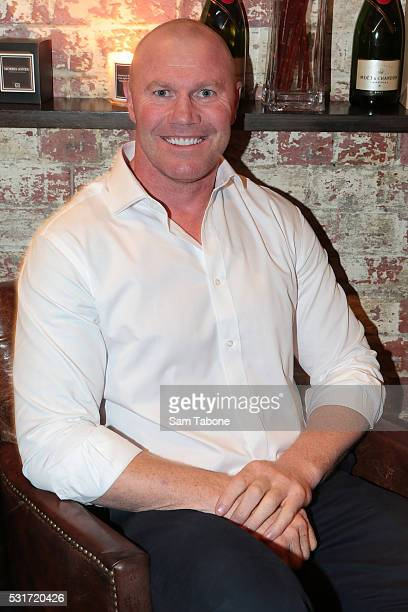 Barry Hall attends The Next Step Cocktail Event on May 16 2016 in Melbourne Australia