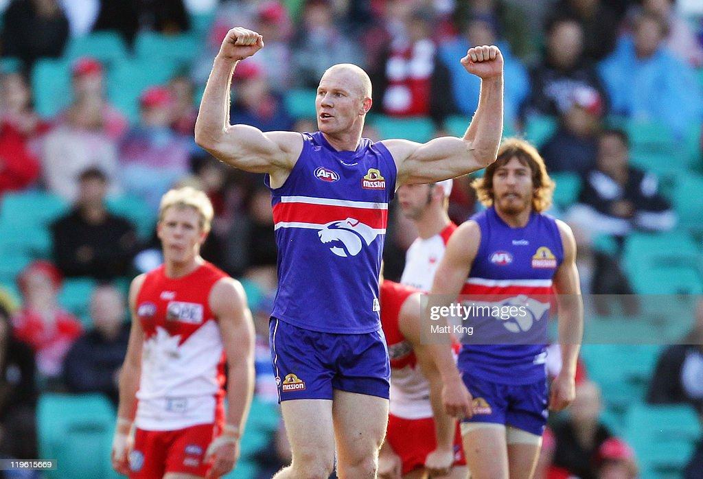 AFL Rd 18 - Sydney v Western Bulldogs
