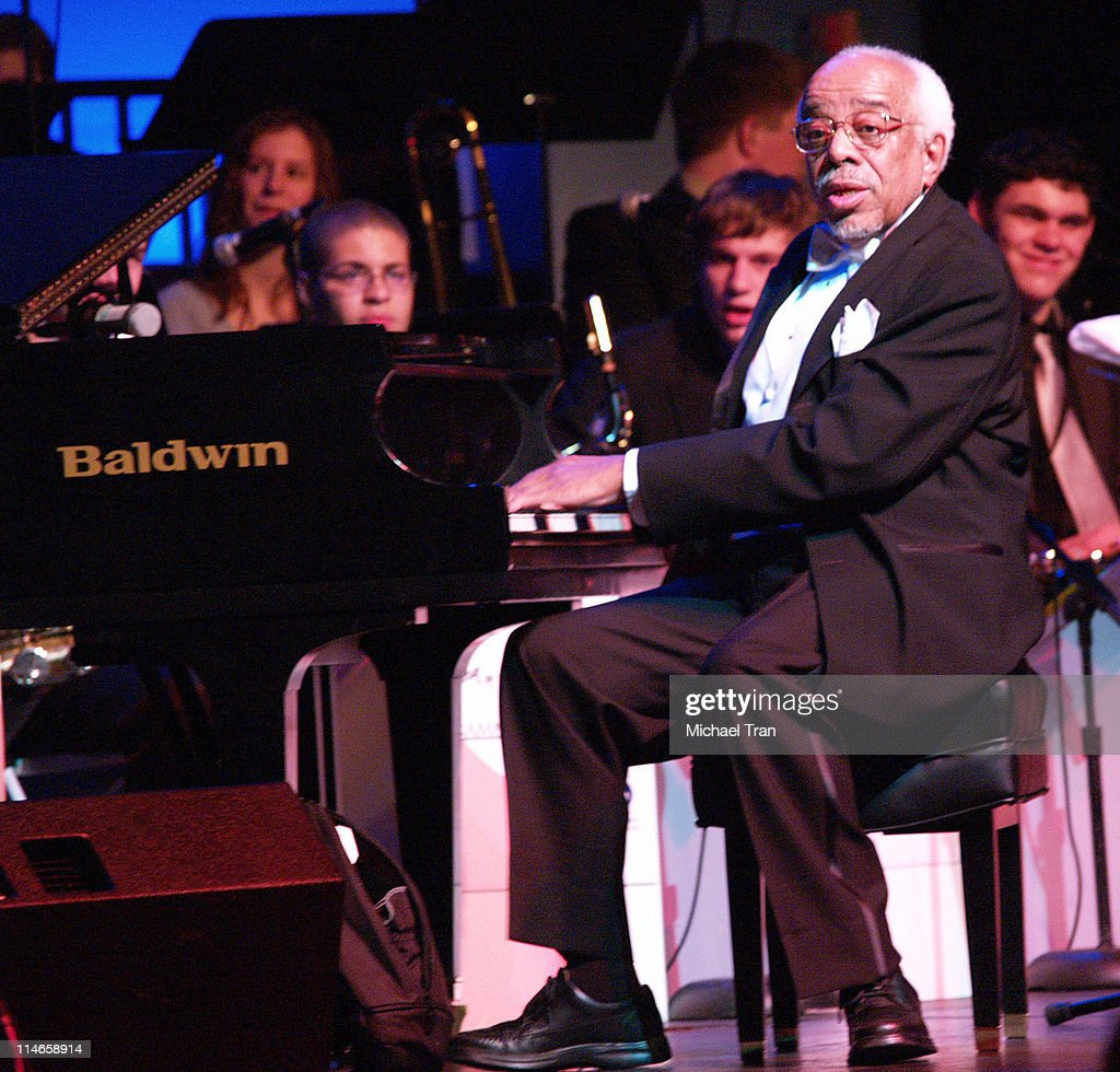 Barry Harris, honoree for President's Merit Award during A GRAMMY Salute to Jazz - Cocktail Reception and Show at The Music Box At Henry Fonda Theatre in Hollywood, Los Angeles, United States.