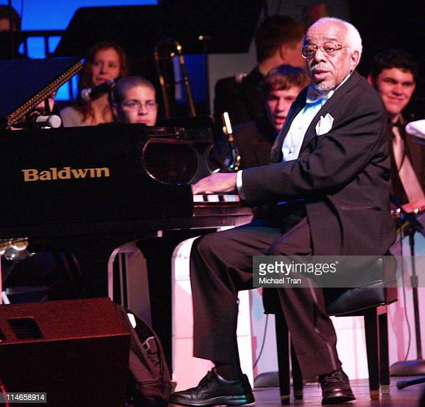 Barry Harris honoree for President's Merit Award during A GRAMMY Salute to Jazz Cocktail Reception and Show at The Music Box At Henry Fonda Theatre...