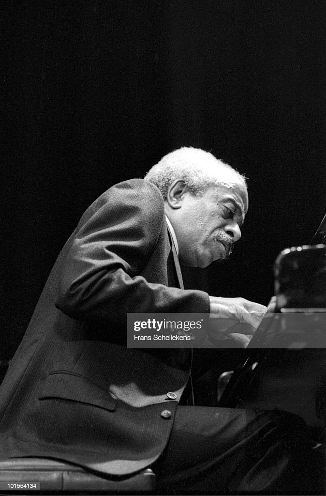 Barry Harris performs live on stage at Meervaart in Amsterdam, Netherlands on September 11 1985
