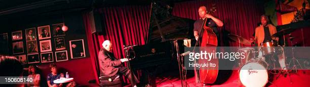 Barry Harris Trio performing at the Village Vanguard on Tuesday night July 17 2012This imageFrom left Barry Harris Ray Drummond and Leroy Williams