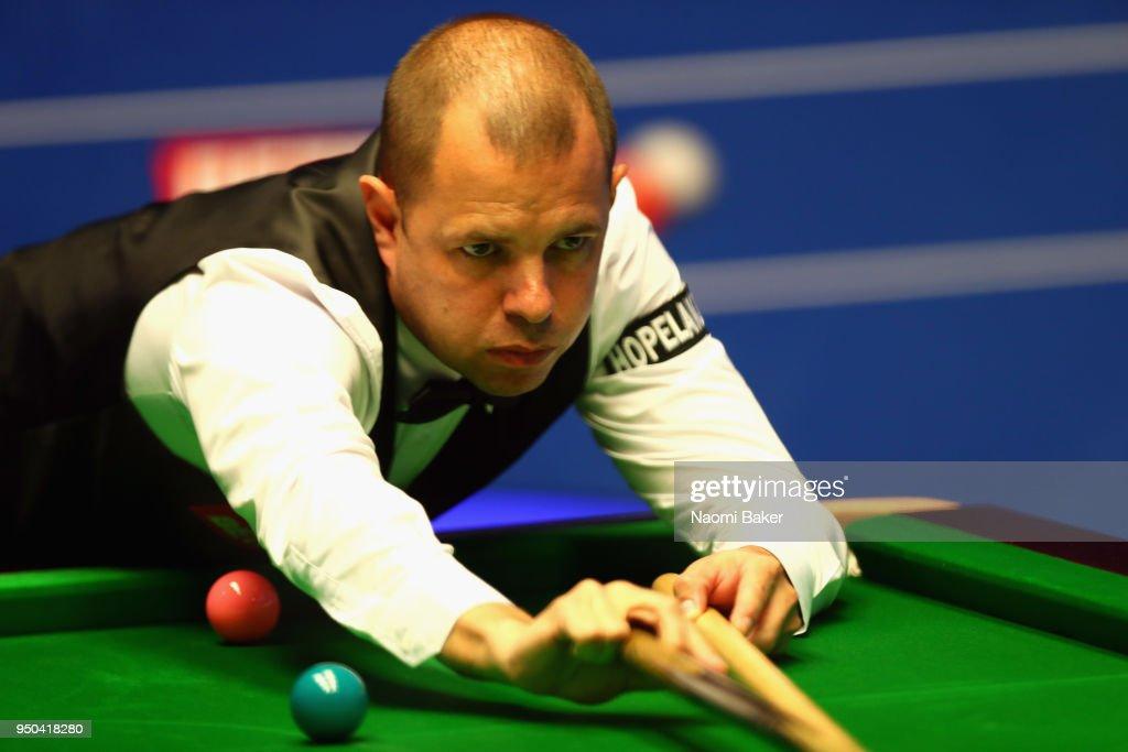 World Snooker Championship - Day Three : ニュース写真