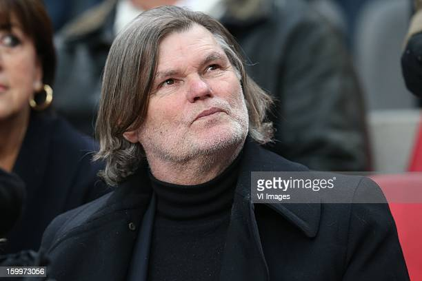 Barry Hulshof during the Dutch Eredivise match between Ajax Amsterdam and Feyenoord at the Amsterdam Arena on January 20 2013 in Amsterdam The...