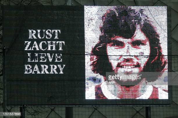 Barry Hulshoff passed away during the Dutch Keuken Kampioen Divisie match between Ajax Amsterdam U23 and NAC Breda at Sportpark De Toekomst on...