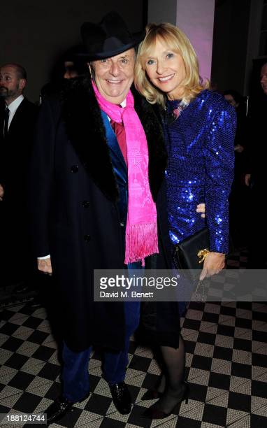 Barry Humphries and wife Lizzie Spender attend an after party celebrating the press night performance of 'Barry Humphries' Eat Pray Laugh' at One...