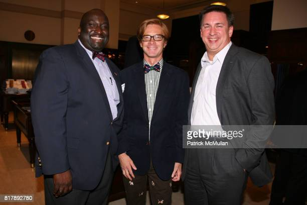 Barry Hundley K Cooper Ray and Mike Carter attend The launch of True Prep at Brooks Brothers on September 14 2010 in New York