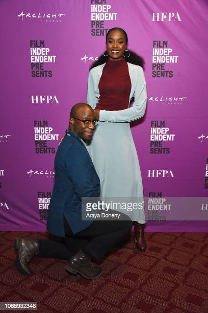 Barry Jenkins and KiKi Layne attend the Film Independent Special Screening of 'If Beale Street Could Talk' at ArcLight Hollywood on December 5 2018...