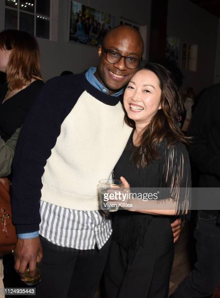 "Barry Jenkins and Lulu Wang at the ""The Farewell"" party at DIRECTV Lodge presented by ATT at Sundance Film Festival 2019 on January 25 2019 in Park..."