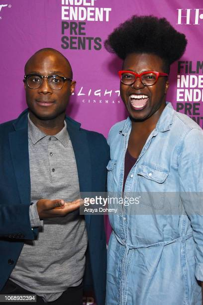 Barry Jenkins and Tre'vell Anderson attend the Film Independent Special Screening of 'If Beale Street Could Talk' at ArcLight Hollywood on December 5...