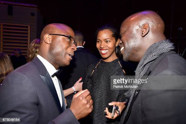 Barry Jenkins Ashley ShawScott and David Adjaye attend the 2017 TIME 100 Gala at Jazz at Lincoln Center on April 25 2017 in New York City