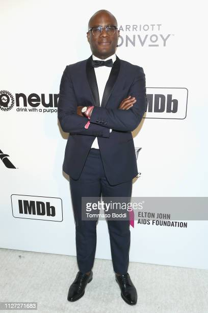 Barry Jenkins attends IMDb LIVE At The Elton John AIDS Foundation Academy Awards® Viewing Party on February 24 2019 in Los Angeles California