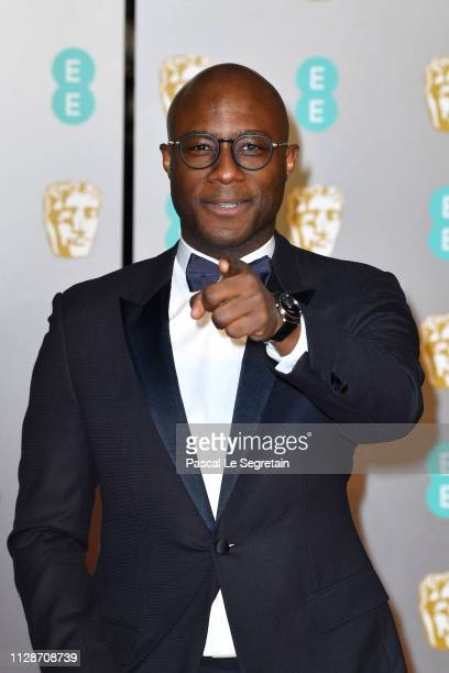 Barry Jenkins attends the EE British Academy Film Awards at Royal Albert Hall on February 10 2019 in London England