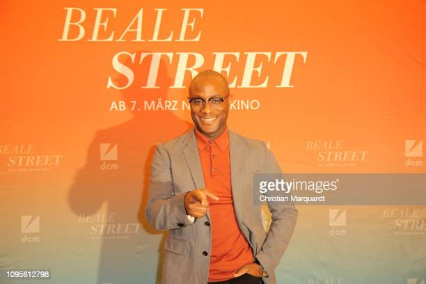 Barry Jenkins poses during the photo call for the film 'Beale Street' at Kino International on January 17 2019 in Berlin Germany