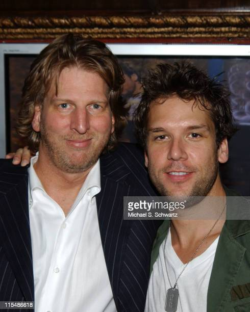 Barry Katz personal manager and Dane Cook during Comedian Dane Cook DVDCD Release Party at The Laugh Factory at The Laugh Factory in Hollywood...