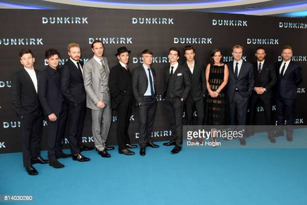 Barry Keoghan Aneurin Barnard Jack Lowden James D'Arcy Mark Rylance Cillian Murphy Fionn Whitehead Harry Styles Emma Thomas Christopher Nolan Tom...
