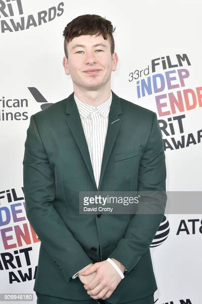 Barry Keoghan attends the 2018 Film Independent Spirit Awards Arrivals on March 3 2018 in Santa Monica California