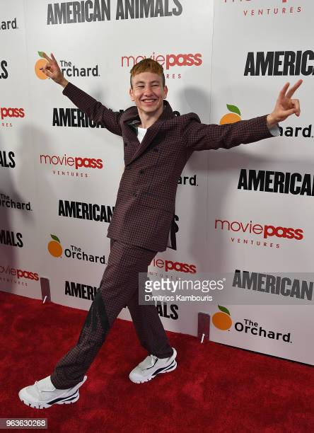 Barry Keoghan attends the 'American Animals' New York Premiere at Regal Union Square on May 29 2018 in New York City