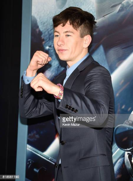 Barry Keoghan attends the 'DUNKIRK' premiere in New York City