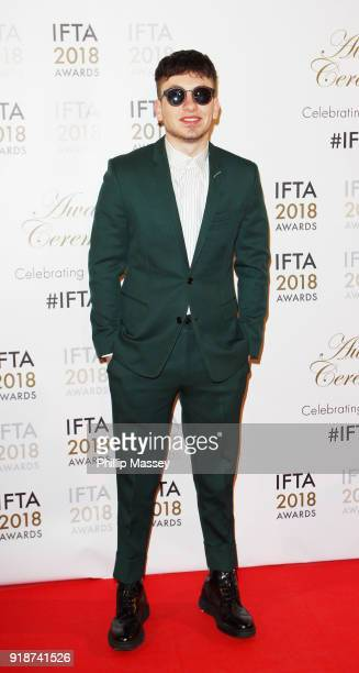 Barry Keoghan attends the 'IFTA Film Drama Awards' at Mansion House on February 15 2018 in Dublin Ireland