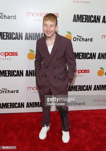 Barry Keoghan attends the New York Premiere of 'American Animals' at Regal Union Square on May 29 2018 in New York City