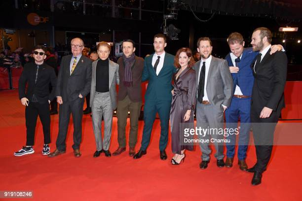 Barry Keoghan Jim Broadbent Freddie Fox Lance Daly James Frecheville Sarah Greene Macdara Kelleher Jonathan Loughran and Moe Dunford attend the...