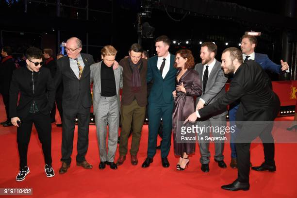 Barry Keoghan Jim Broadbent Freddie Fox Lance Daly James Frecheville Sarah Greene Macdara Kelleher Moe Dunford and Jonathan Loughran attend the...
