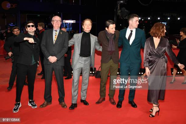 Barry Keoghan Jim Broadbent Freddie Fox Lance Daly James Frecheville and Sarah Greene attend the 'Black 47' premiere during the 68th Berlinale...