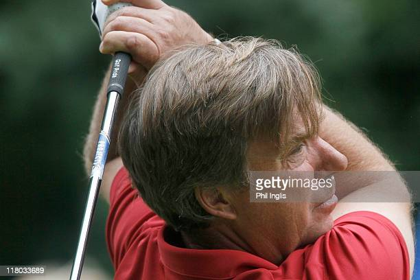 Barry Lane of England in action during the final round of the Bad Ragaz PGA Seniors Open played at Golf Club Bad Ragaz on July 3, 2011 in Bad Ragaz,...