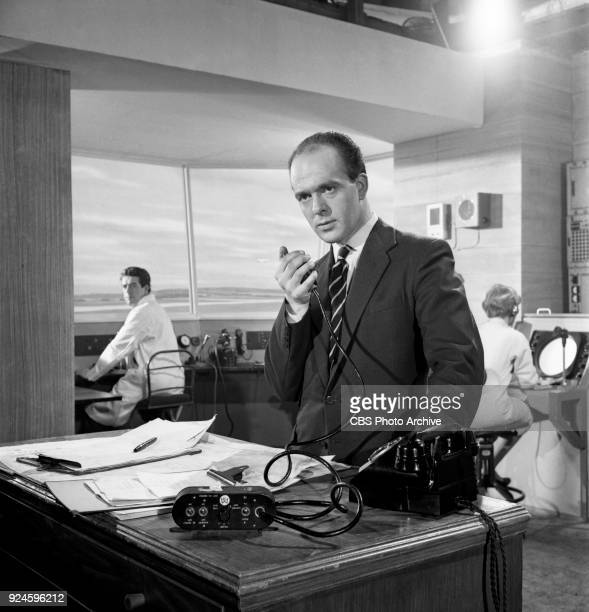Barry Letts portrays Control Officer Richards in an episode of the CBS Television program 'The Invisible Man' The episode is titled 'Point of...