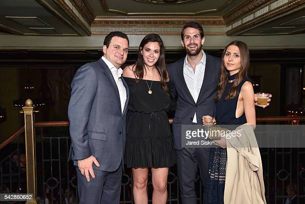 Barry Levine Gabriela Bronfman Eli Bronfman and Nicole Bronfman attend AFIM Presents Celebrate Summer An Art Acquisitions Fundraiser at The Jane...