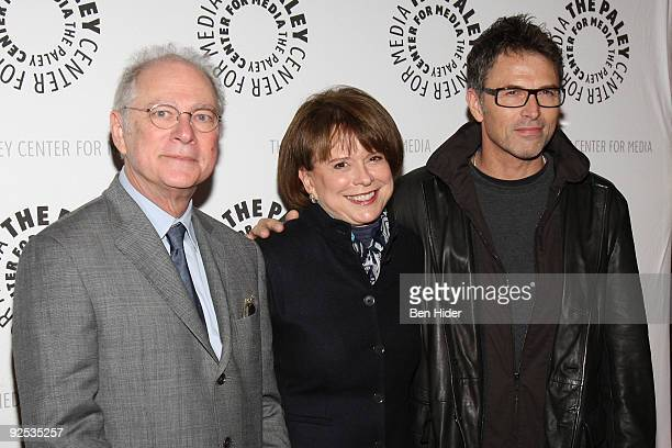 Barry Levinson Christy Carpenter and Tim Daly attend the 'Poliwood' screening at The Paley Center for Media on October 29 2009 in New York City