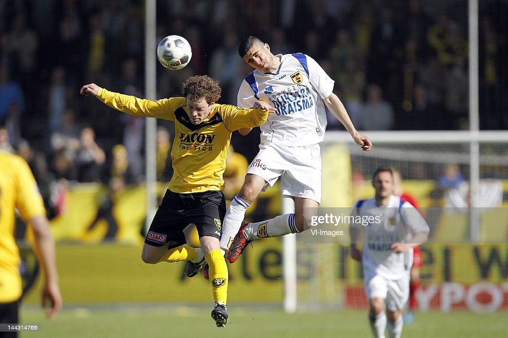 Barry Maguire Of Vvv Venlo Mohammed El Makrini Of Sc Cambuur During News Photo Getty Images