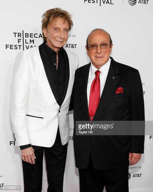 Barry Manilow and Clive Davis attend the Clive Davis The Soundtrack of Our Lives 2017 Opening Gala of the Tribeca Film Festival at Radio City Music...