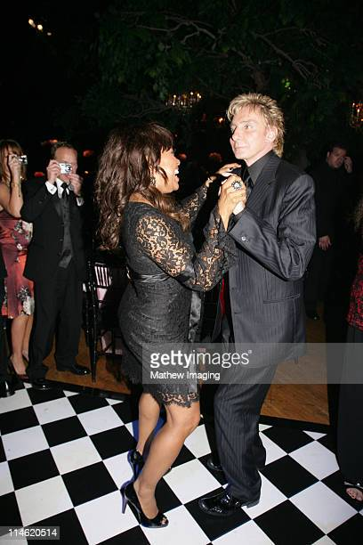 Barry Manilow and guest during 58th Annual Primetime Emmy Awards Governors Ball at The Shrine Auditorium in Los Angeles California United States