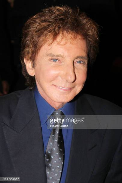 Barry Manilow attends his Caricature Unveiling at Sardi's on February 14 2013 in New York City