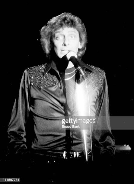 Barry Manilow during Barry Manilow Open Rehearsal at the Bottom Line Cabaret Club in New York City January 6 1980 at Bottom Line Cabaret Club in New...