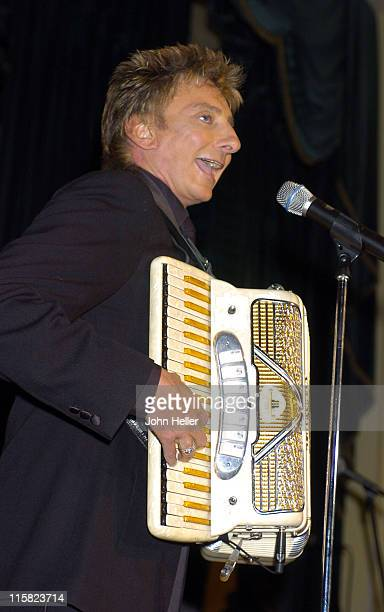 Barry Manilow during Jewish Family Services 150th Anniversary Gala at Regent Beverly Wilshire Hotel in Beverly Hills United States