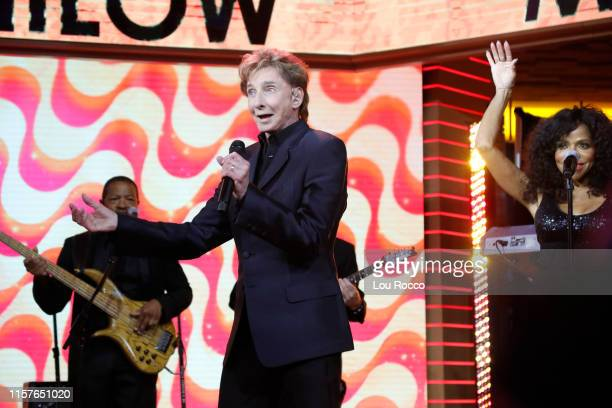 """Barry Manilow is a guest on """"Good Morning America,"""" Thursday, July 25, 2019 on the Walt Disney Television Network. BARRY MANILOW"""