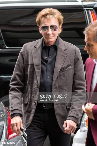 Barry Manilow is seen in Midtown on May 23 2017 in New York City