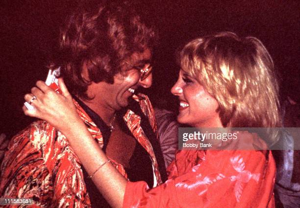 Barry Manilow Lorna Luft at the Arista Records party