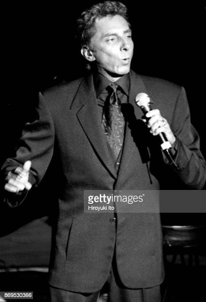 Barry Manilow performing in the 11th Annual Cabaret Convention's 'MoonRiver The Magic of Johnny Mercer' at Town Hall on Tuesday night October 17 2000
