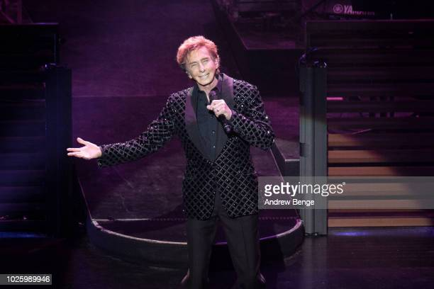 Barry Manilow performs at First Direct Arena Leeds on September 1, 2018 in Leeds, England.