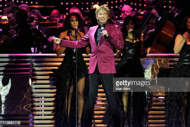 Barry Manilow performs at O2 Arena on May 4 2011 in London England