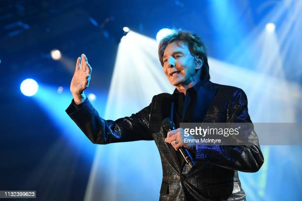 Barry Manilow performs onstage during Celebrity Fight Night XXV on March 23 2019 in Phoenix Arizona